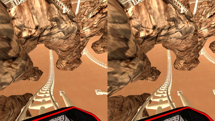 VR Roller Coaster for Google Cardboard screenshot-3