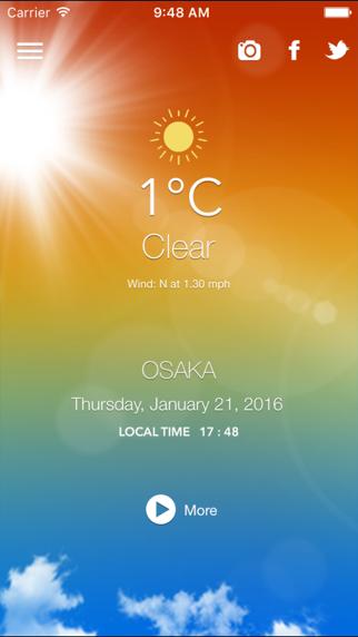 ZeroWeather Forecast screenshot four