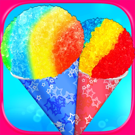 Snow Cone Maker - Kids Frozen Cooking & Food Games FREE
