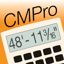 Construction Master Pro -- Advanced Feet Inch Fraction Construction Math Calculator for Building Professionals