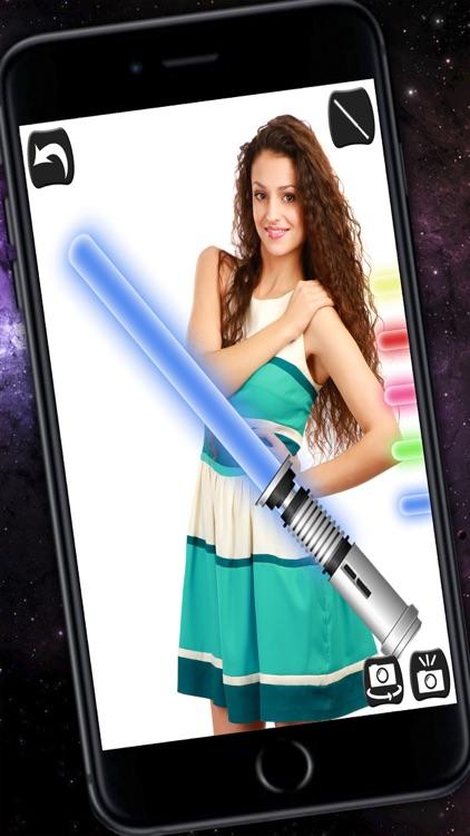 Jedi Lightsaber - Laser sword with sound effects