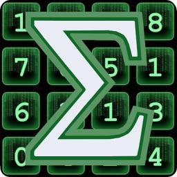 Sum Matrix Numbers Puzzle
