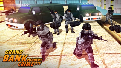 Bank Robbery - crime city police shooting 3D free-3