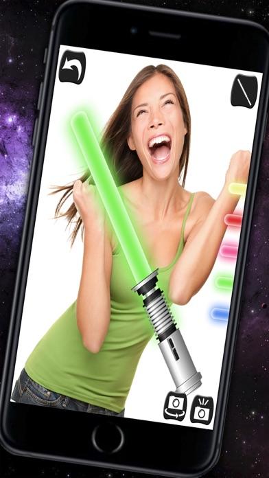 Jedi Lightsaber & Laser sword with sound - Pro screenshot one