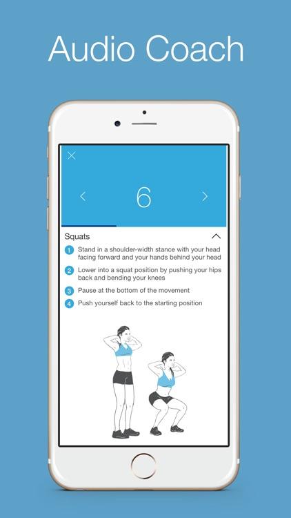 Squats 100 Free - 30 days workout challenge screenshot-3