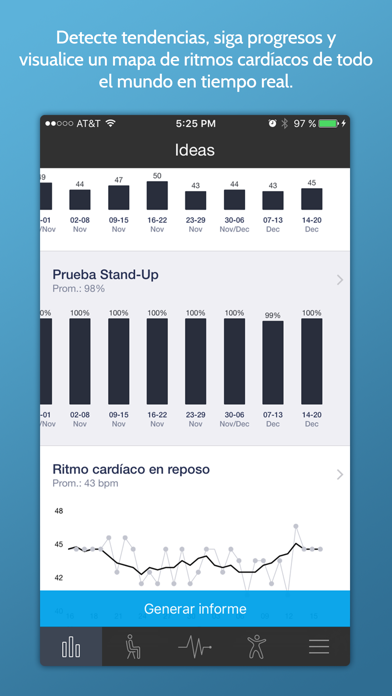Screenshot for Ritmo Cardíaco Instantaneo+ in Colombia App Store