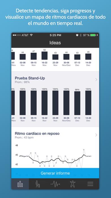 Screenshot for Ritmo Cardíaco Instantaneo+ in Chile App Store