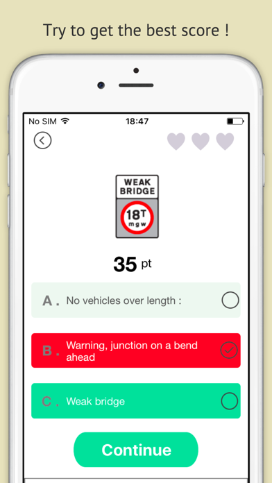 Highway code 2016 free - Driving licence theory screenshot three
