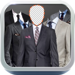 Man Suits - Fashion Shop Closet, Montage Face Photo Editor