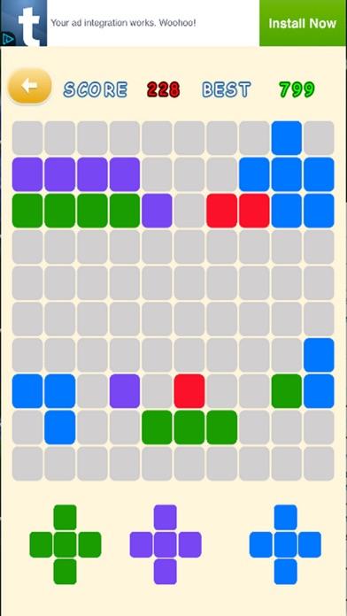 Plus Minus Puzzle screenshot one
