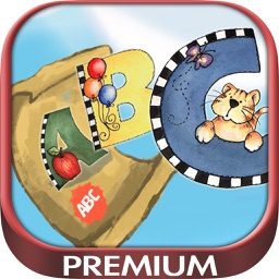 ABC game to learn to read the alphabet in English - Premium