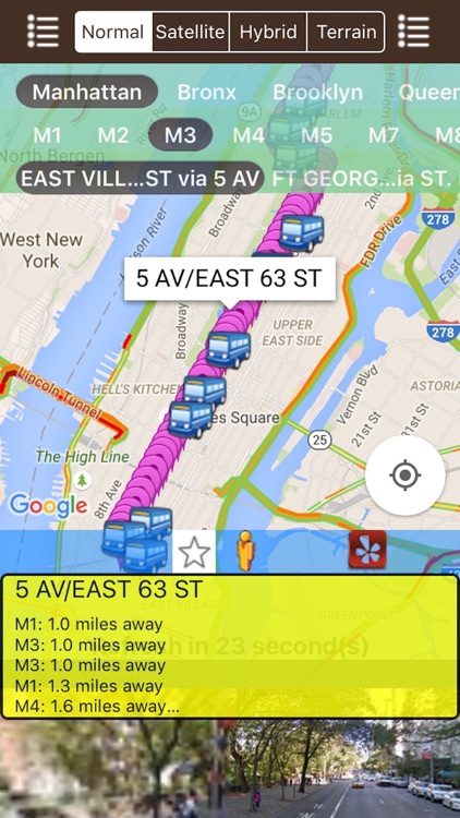 My NYC Next Bus Real Time Pro - Public Transportation Directions and Trip Planner