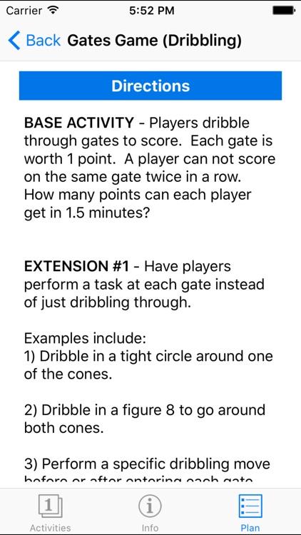 Essential Soccer Activities screenshot-3
