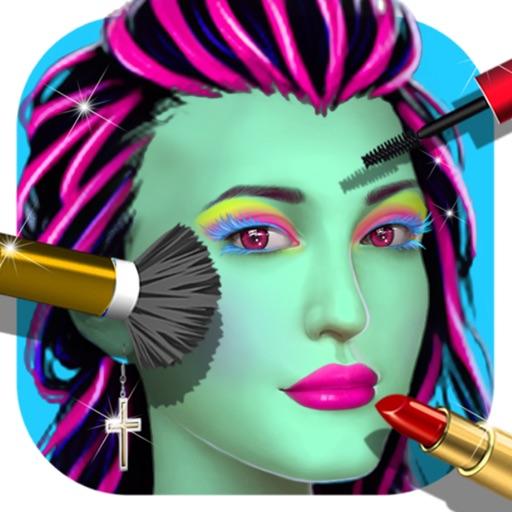 Beauty Salon! Monster Girls Makeover