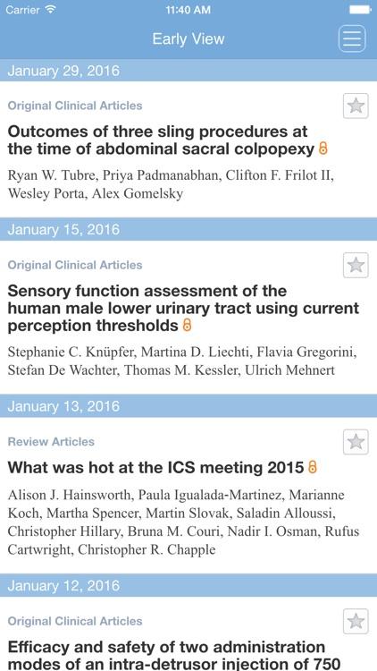 Neurourology and Urodynamics screenshot-3
