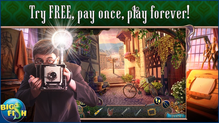 Off The Record: The Art of Deception - A Hidden Object Mystery screenshot-0