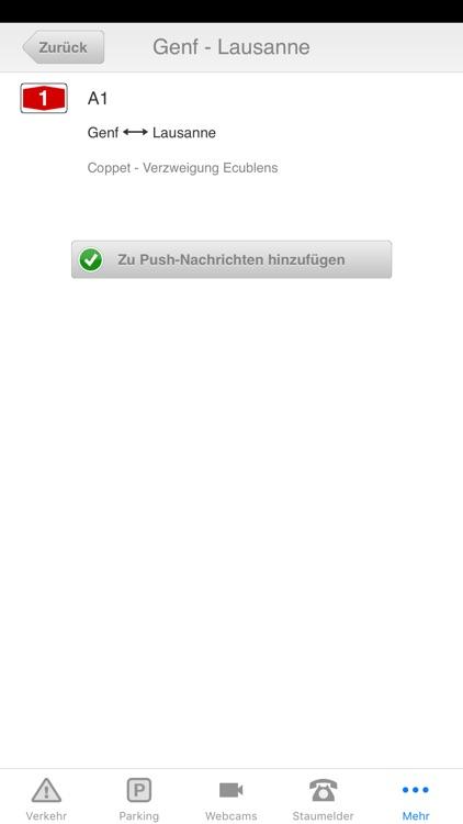 SRF Verkehrsinfo screenshot-3