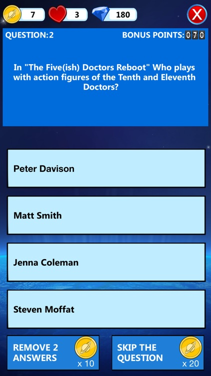 iWhovian - Doctor Who Quiz