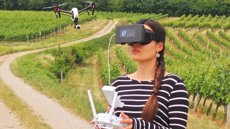 3D VR Cockpit - DJI Phantom 3/4 Mavic Inspire