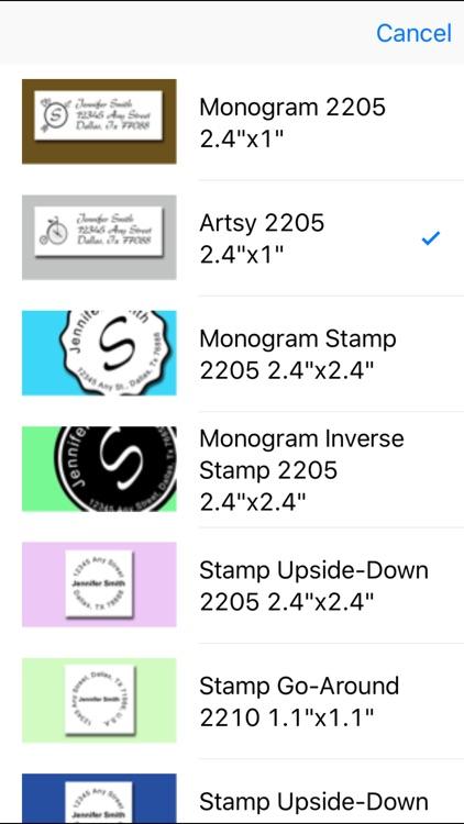Quick Address Labels screenshot-3