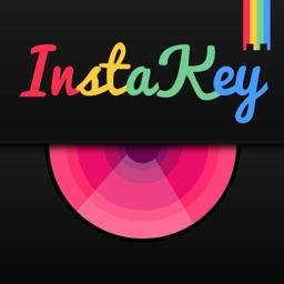 InstaKey - Custom Theme Keyboard and Cool Fonts Keyboard