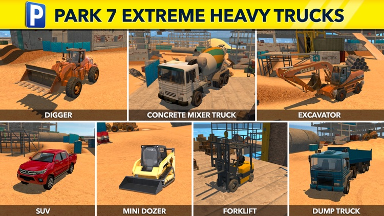 Extreme Heavy Trucker Parking Simulator