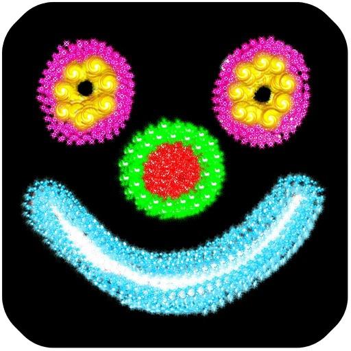 Kids glow - animated iOS App