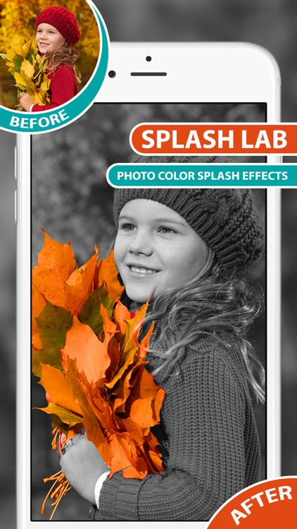 Color Splash Effects With Recolor, Black & White