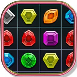 Crystal Match 3 Puzzle Game For Kids