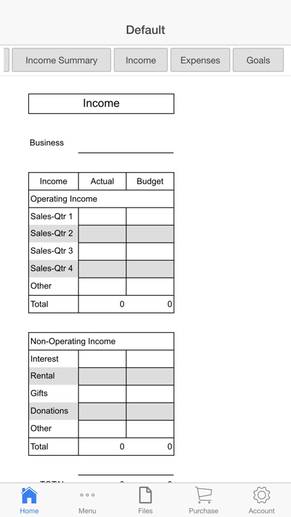 Business Budget Pro