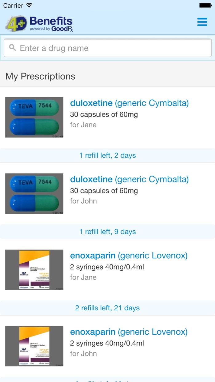 4D Benefits Screenshot