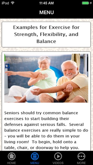 discover the secrets to having a good exercises for the elderly you