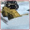 スノープラウトラックシミュレータ - 雪かきトラックを運転&トラフィックのブロックされた道路をクリア