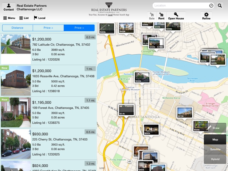 Chattanooga Homes for Sale for iPad screenshot-0
