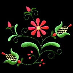 Embroidery Designs: Specially chosen samples for hand embroidery