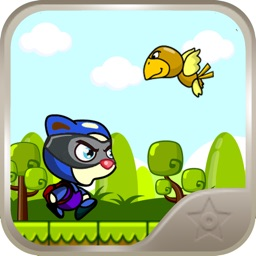 Dora Noggin - Guide the lazy cat through enemies and trapz, find the mouse and become the hero of 4ever Land. By John Oirdo