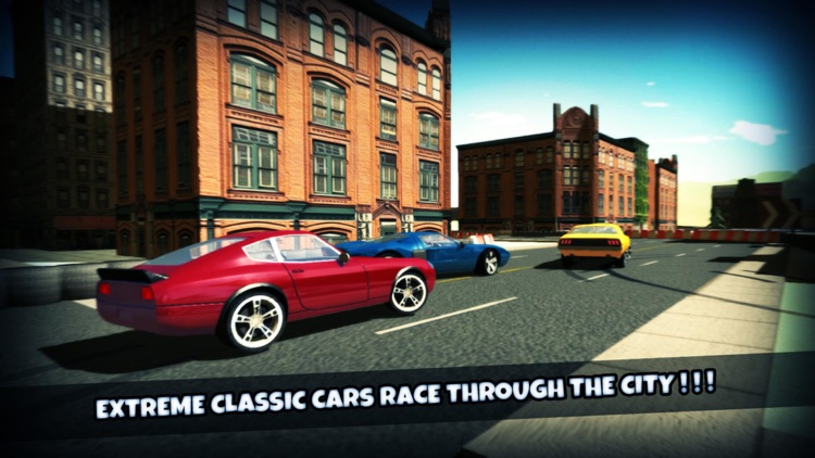 Classic Cars Simulator 3d 2015 : Old Cars sim with extream speeding and city racing