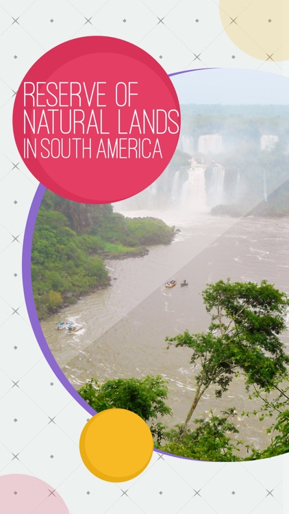 Reserve of Natural Lands In South America