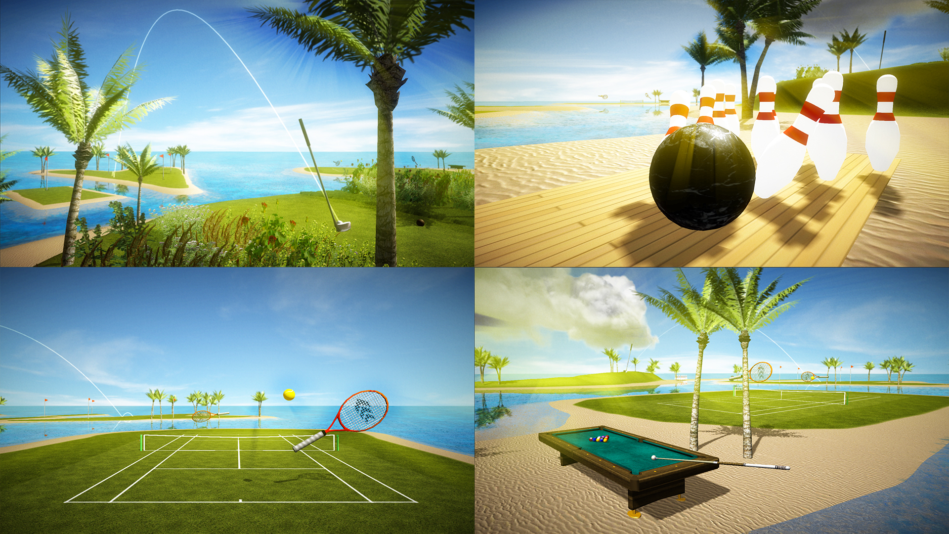 Sports Pro - Golf Tennis Bowling Pool screenshot 2