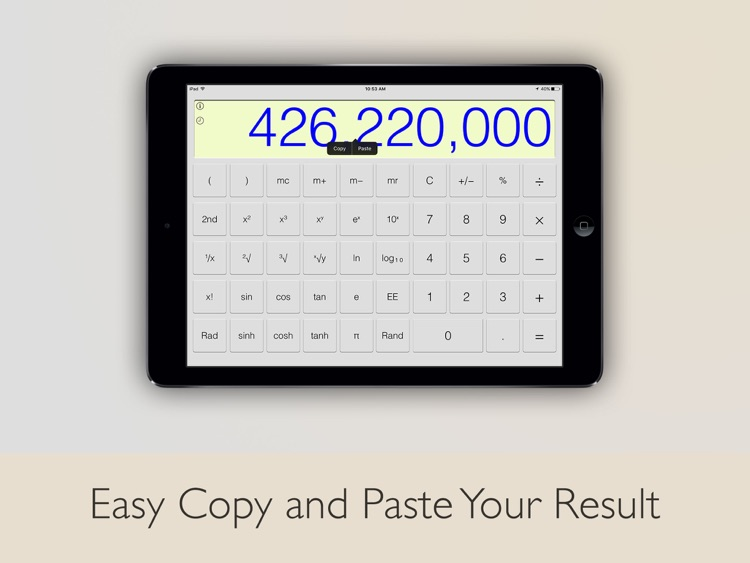Calculator - iPad Edition screenshot-4