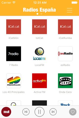 Radio España FM (Spain Live Stream Radios Player) - náhled