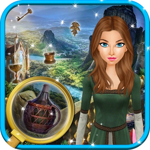 Abandoned Castle Gems - Find the Hidden Objects