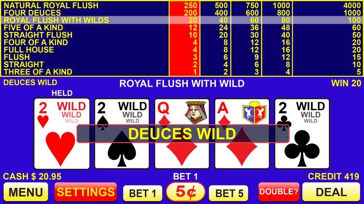 Video Poker - FREE Las Vegas Casino Video Poker Suite Classic Deluxe Games screenshot-3