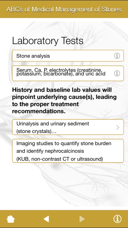ABCs of Medical Management of Stones