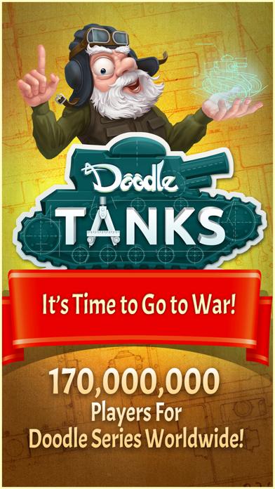 Doodle Tanks™ HD screenshot 1
