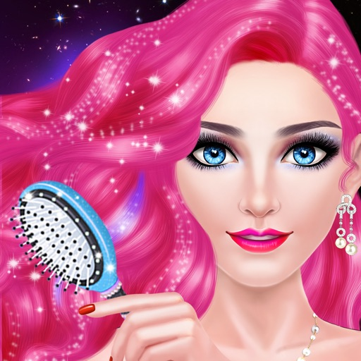 Hair Styles Fashion Girl Salon: Spa, Makeup & Dress Up Beauty Game for Girls iOS App