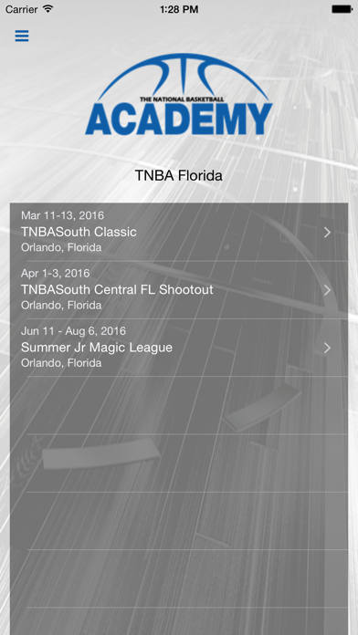messages.download TNBA Florida software