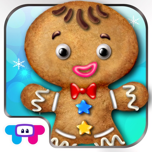 Gingerbread Dress Up - Decorate Your Christmas Cookie