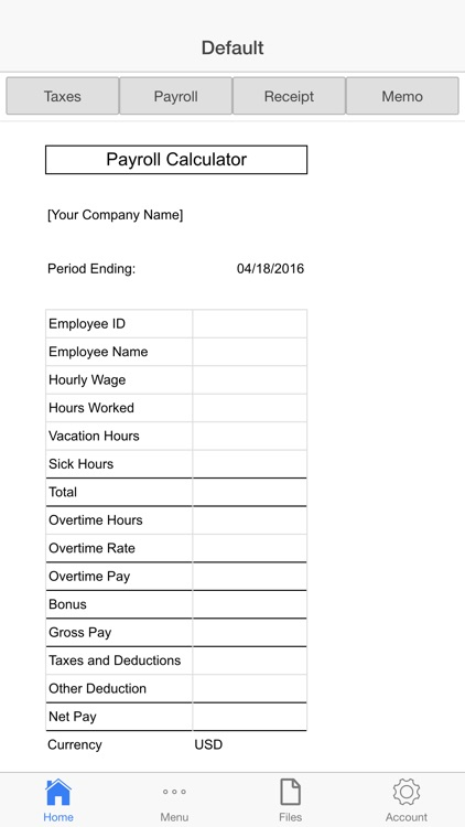 Business Payroll