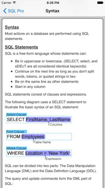 SQL Pro